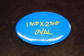 """1.75"""" x 2.75"""" Oval Vertical or Horizontal Button"""
