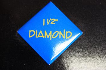"1.5"" Diamond Button"