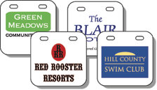 "1.75"" x 1.75"" Consecutive Numbering Swim Tags"