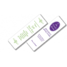 "2"" x 7"" Two Sided Book Marks Plastic Coated"