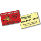 "2 1/8"" x 3 3/8"" Discount Cards"